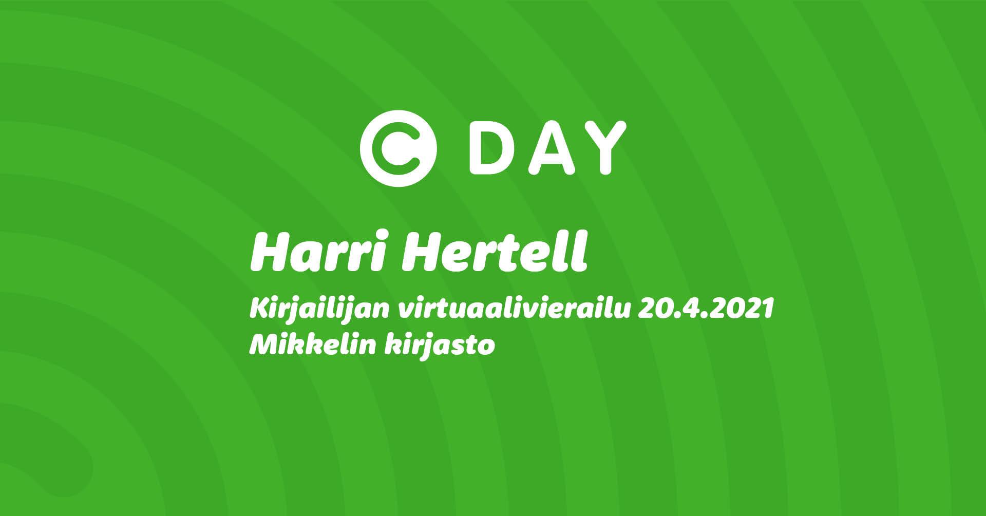 Harri Hertell-Mikkelin virtuaalivierailu.